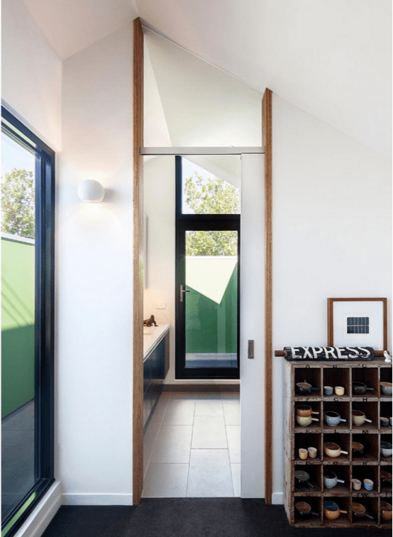 Stylish Hipster House With Laconic Design - DigsDigs