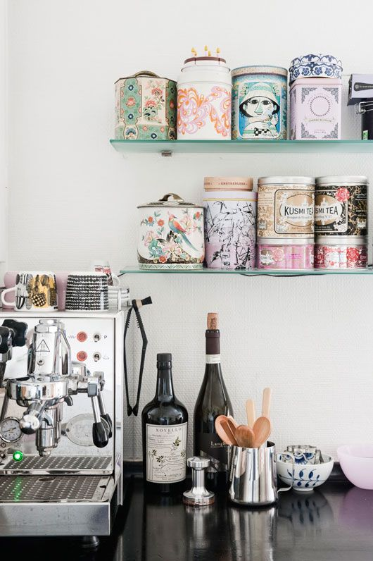 Stylish Home Coffee Stations To Get Inspired