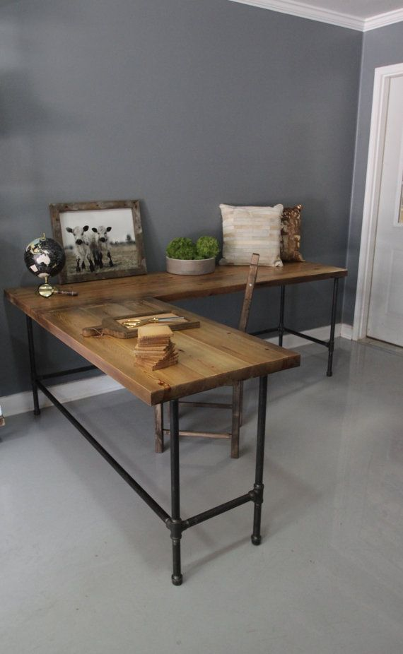 28 Stylish Industrial Desks For Your fice