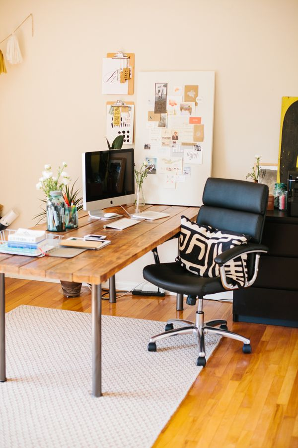 Picture Of Stylish Industrial Desks For Your Office