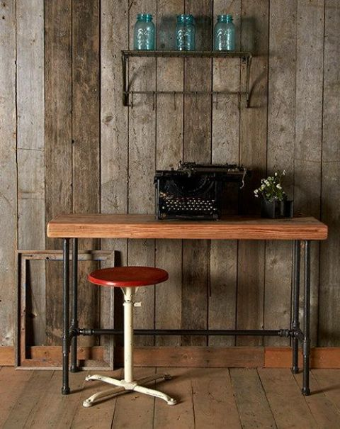 Stylish Industrial Desks For Your Office
