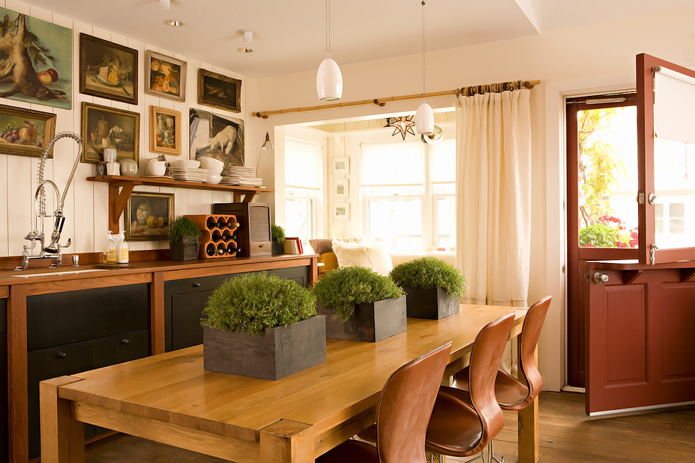 Stylish kitchen design in warm shades digsdigs for Warm kitchen designs