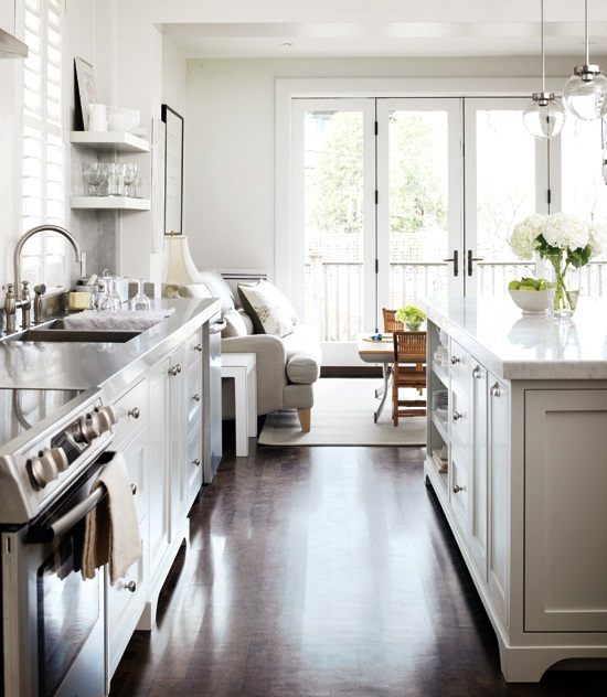 Stylish Kitchen With Delicate Design And Thoughtful Touches