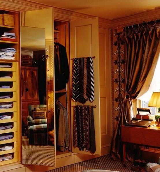 Stylish Masculine Closet Designs