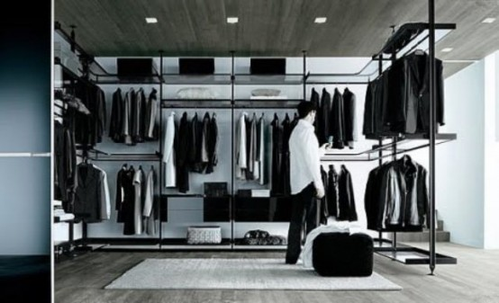 43 Stylish Masculine Closet Designs