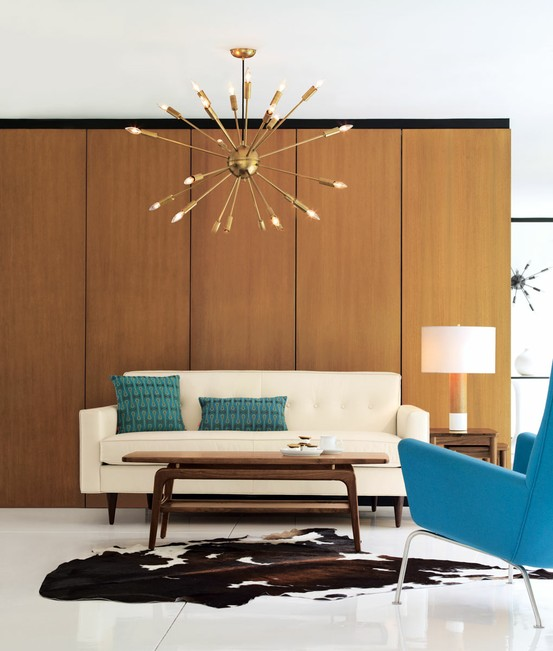 Mid Century Modern Living Room 79 stylish mid-century living room design ideas - digsdigs