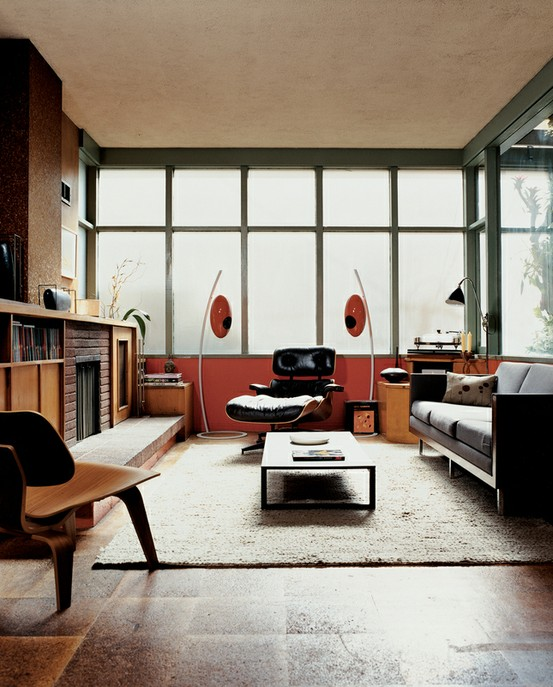 79 Stylish Mid-Century Living Room Design Ideas