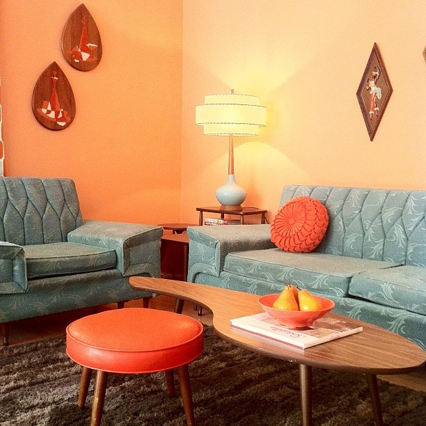Midcentury Living Room: 44 Stylish Mid-Century Modern Coffee Tables