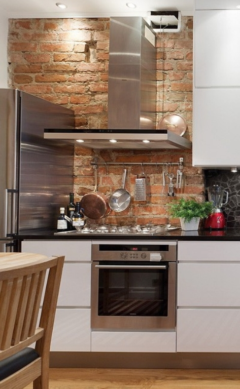 Cool Stylish Minimalist And Industrial Kitchen