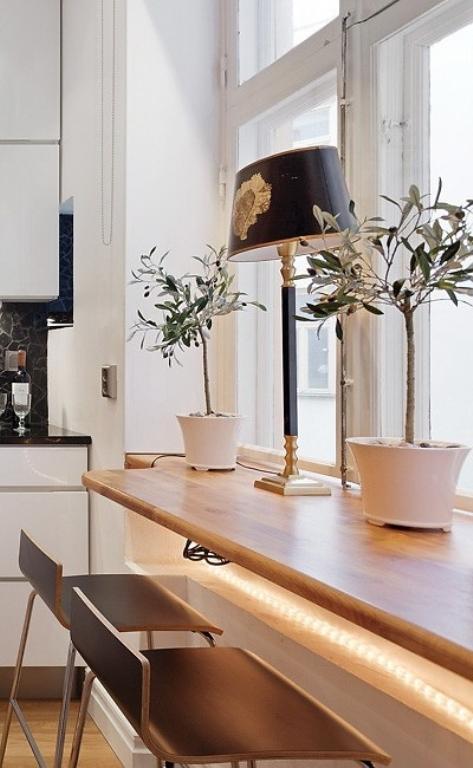 Simple Stylish Minimalist And Industrial Kitchen