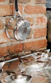 Stylish Minimalist And Industrial Kitchen