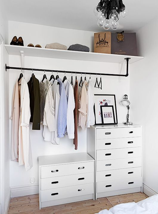 Etonnant Stylish Minimalist Closet Design Ideas