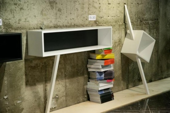 Stylish Minimalist Collection Of Shelves