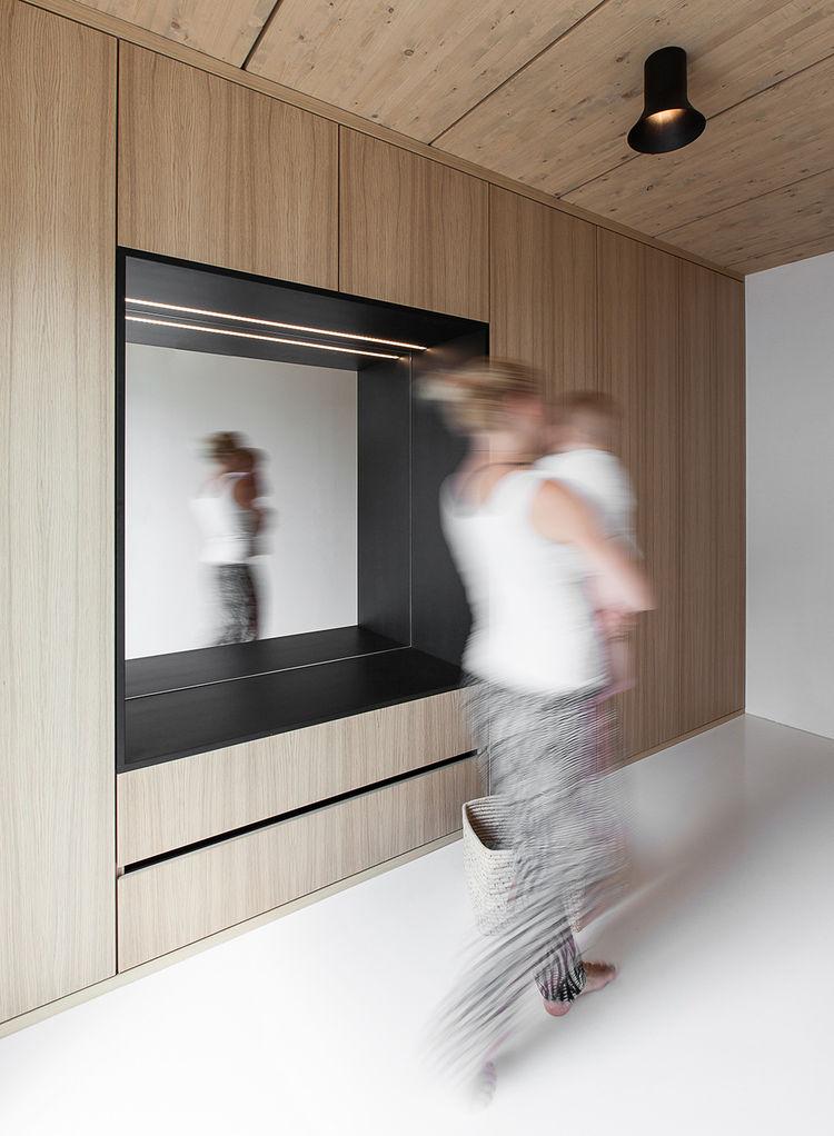 Stylish Minimalist Hjouse B With Smart Design And Timber Decor