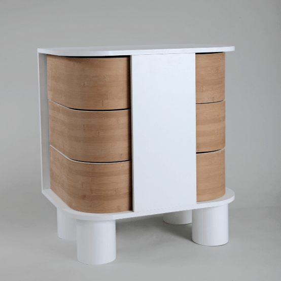 Stylish Modern Cabinet Of Round Shape