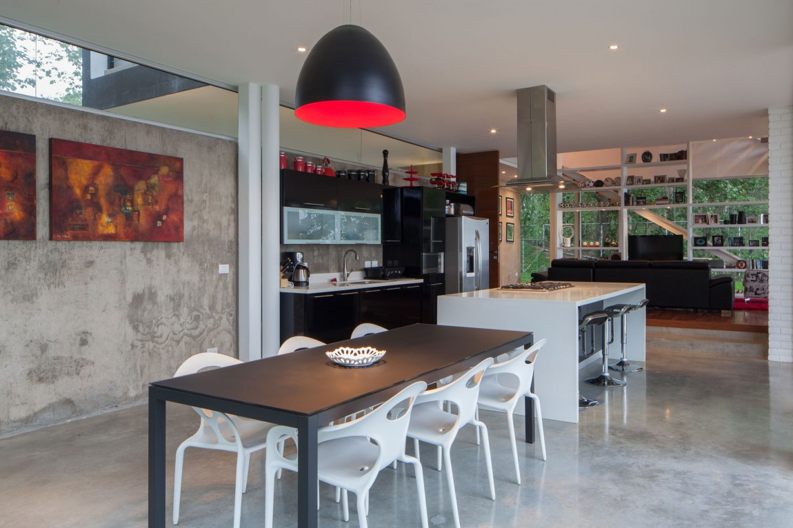 Stylish Modern Family Home With Industrial Touches