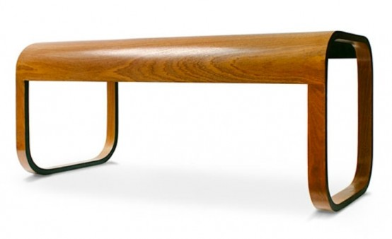 Stylish Modern Offee Table Of Natural Materials