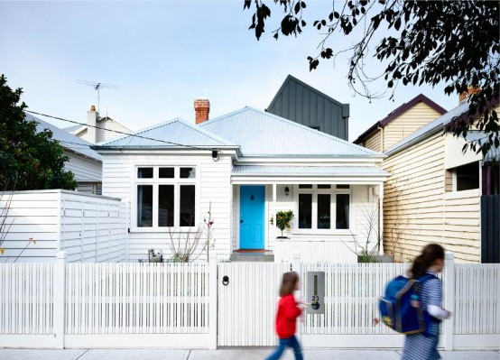 Stylish Modern Sandringham House With Energetic Interiors