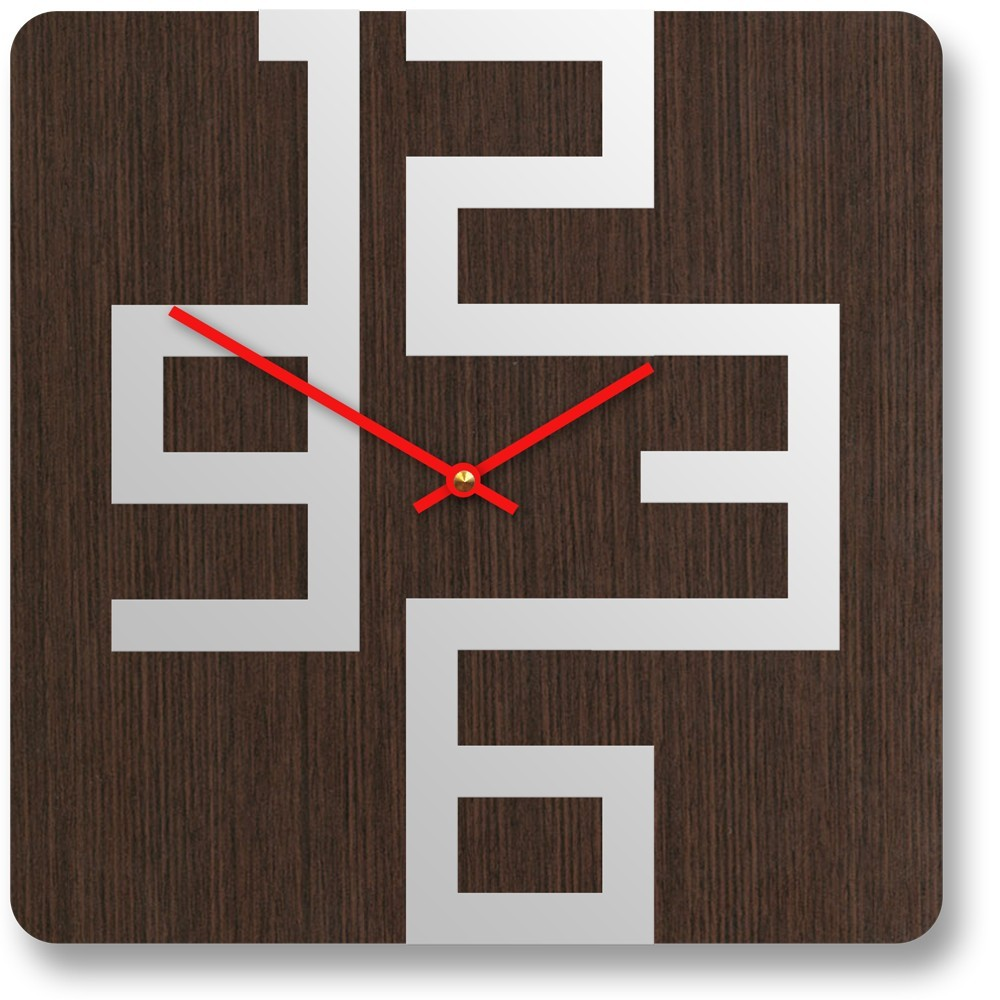 Stylish wooden wall clocks with modern design digsdigs for Modern style decor