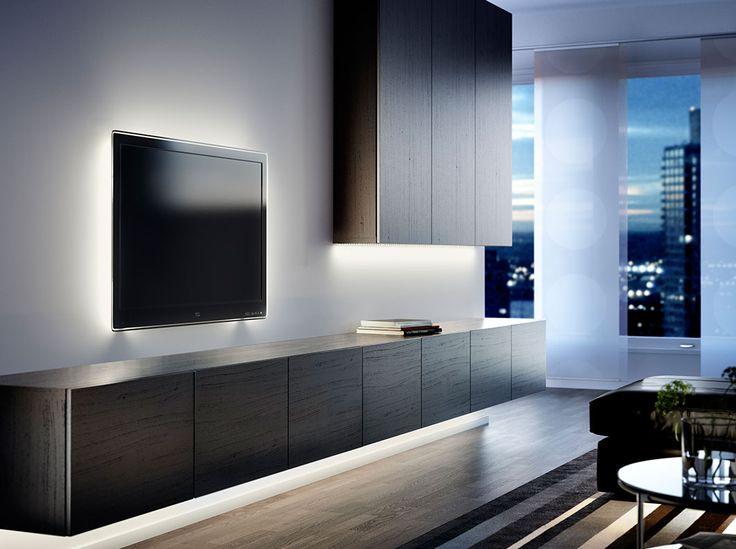 Stylish Modern Wall Units For Effective Storage