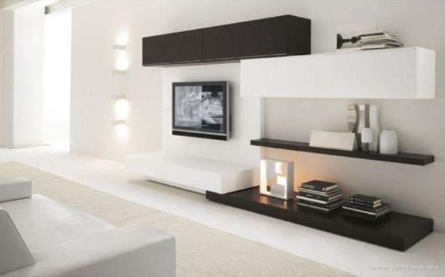 Stylish Modern Wall Units For Effective Storage - DigsDigs