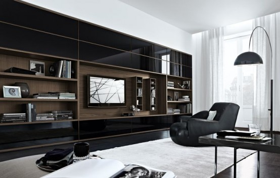 Modern Wall Unit modern wall units - home design ideas