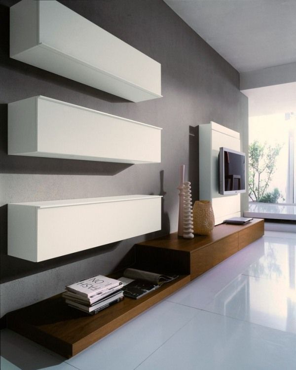 stylish modern wall units for effective storage digsdigs