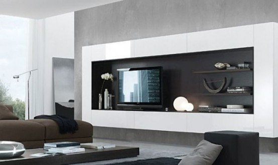 Stylish Modern Wall Units For Effective Storage Part 59