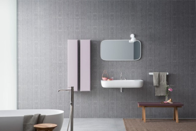 Stylish Modular Esperanto Bathroom Furniture Colleciton