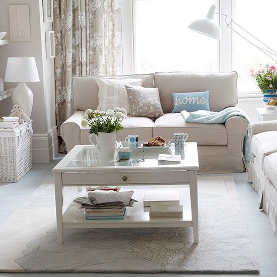 Decorating Ideas Color Inspiration: 35 Stylish Neutral Living Room Designs