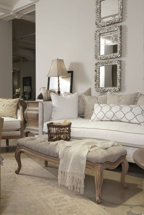 35 stylish neutral living room designs digsdigs for Neutral color furniture