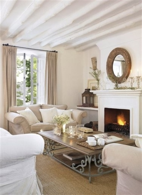 stylish neutral living room designs - Neutral Living Room