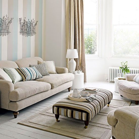 35 stylish neutral living room designs digsdigs for Neutral lounge decorating ideas