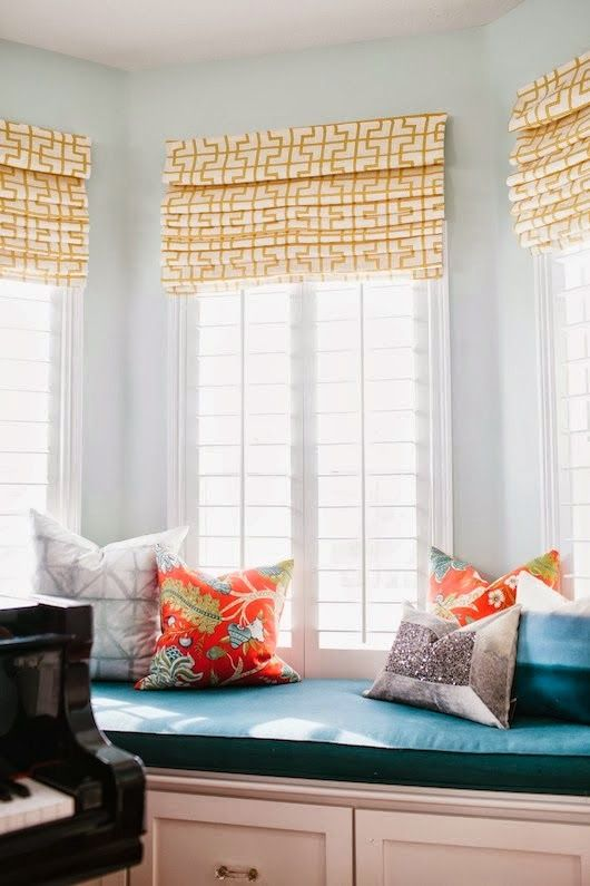 38 Stylish Roman Shades Ideas For Your Home - DigsDigs
