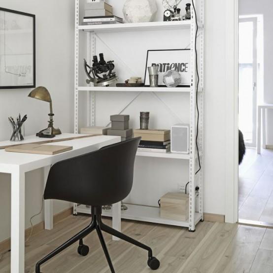 Stylish Scandinavian Home Office Designs & 50 Stylish Scandinavian Home Office Designs - DigsDigs