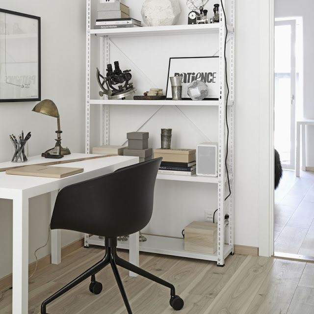 50 Stylish Scandinavian Home Office Designs