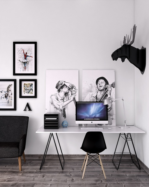 22 Scandinavian Home Office Designs Decorating Ideas: 50 Stylish Scandinavian Home Office Designs