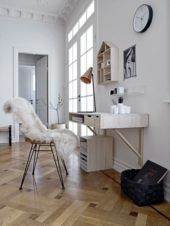 Stylish Scandinavian Home Office Designs