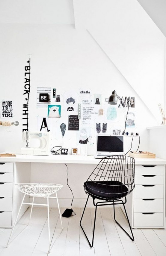 home office designer. Stylish Scandinavian Home Office Designs 50  DigsDigs