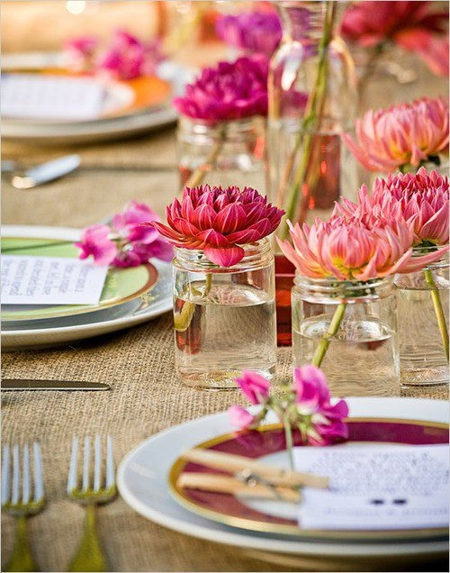 61 stylish and inspirig spring table decoration ideas - Table Decoration