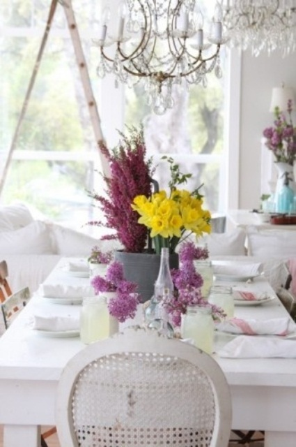Stylish Spring Table Settings