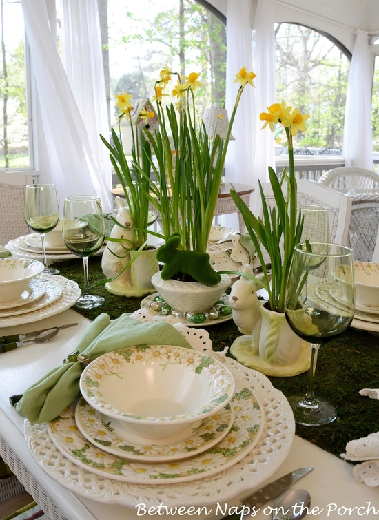 High Quality Stylish Spring Table Settings