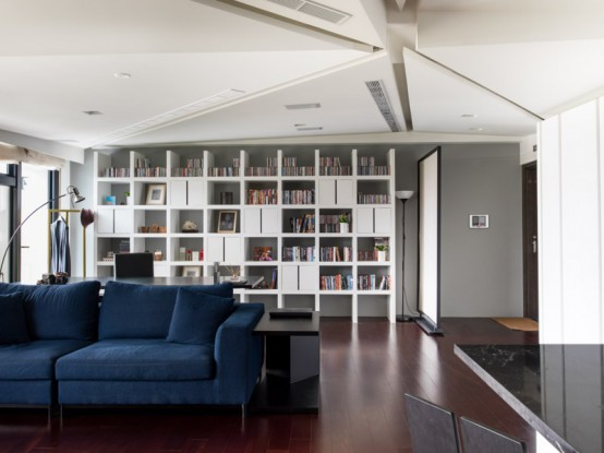 Stylish Taiwan Home With High Level Of Interactivity