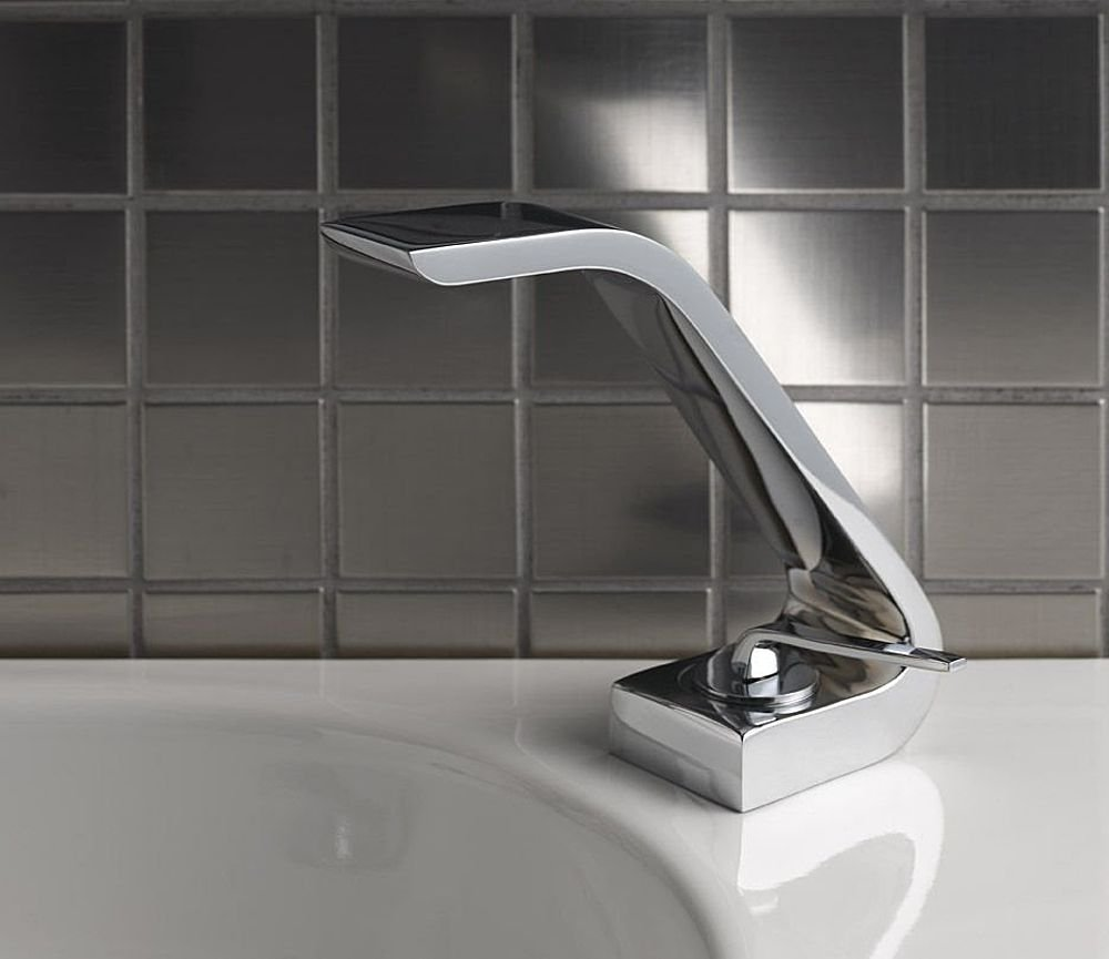 Unusually Shaped Contemporary Taps Wolo From Webert