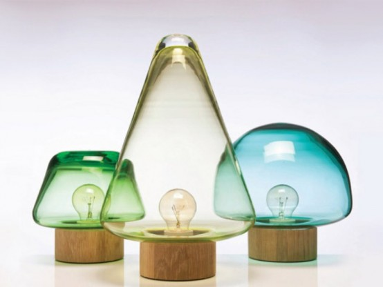 Stylish Transparent Table Lamps