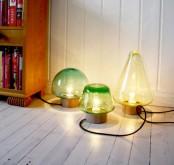 Stylish Transparent Table Lamps