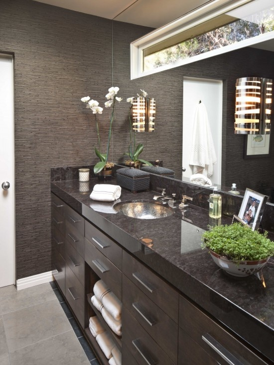 97 Stylish Truly Masculine Bathroom Décor Ideas - DigsDigs