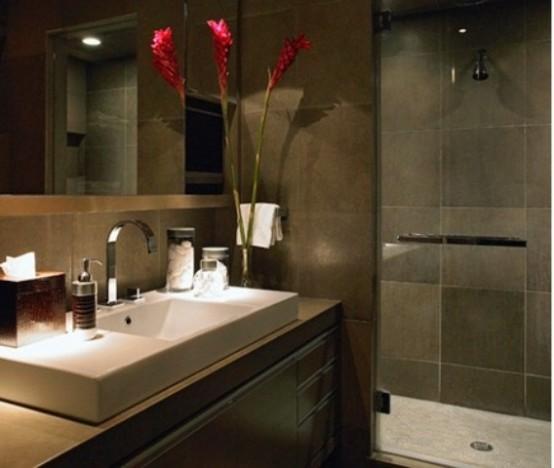 Stylish Truly Masculine Bathroom Decor Ideas. 97 Stylish Truly Masculine Bathroom D cor Ideas   DigsDigs