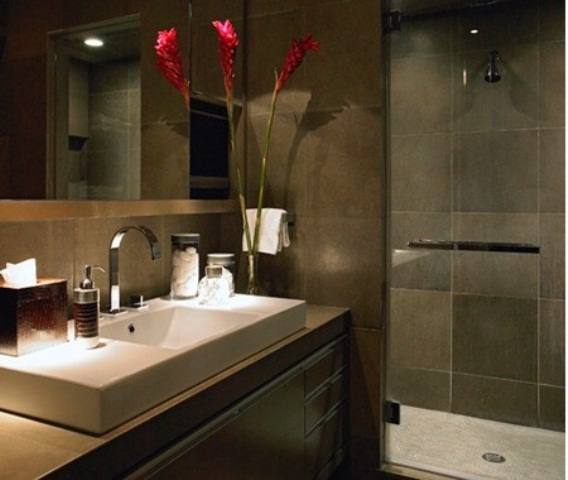 Masculine Bathroom Decorating Ideas