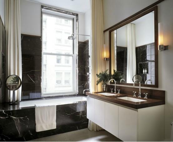 97 Stylish Truly Masculine Bathroom Decor Ideas Digsdigs